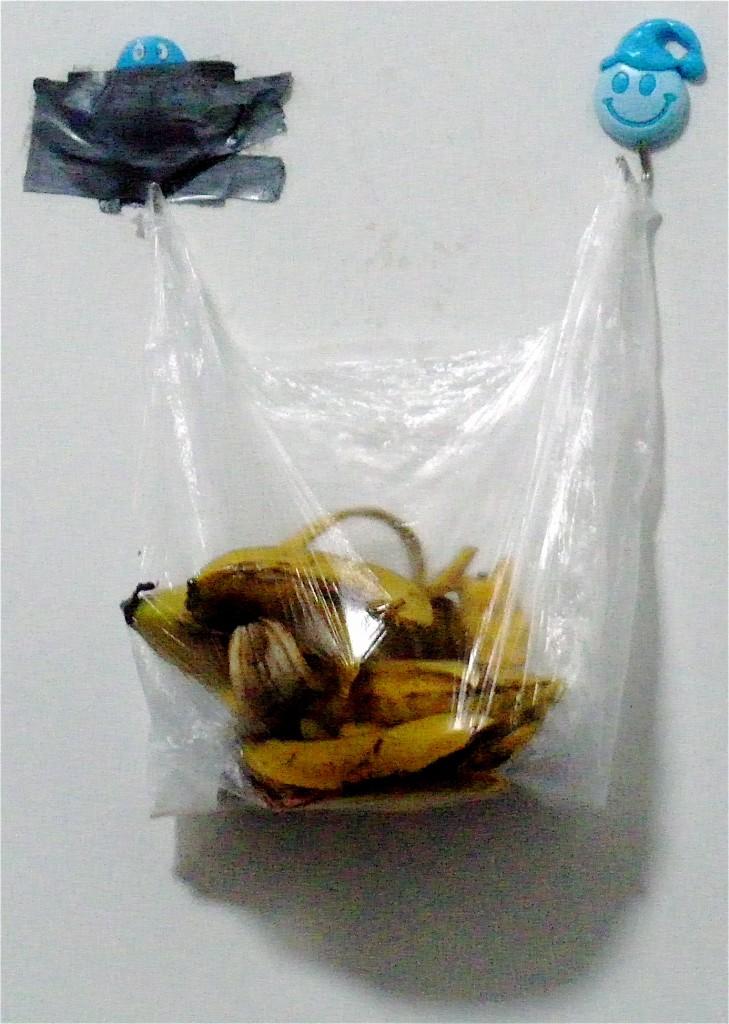 a bag of bananas