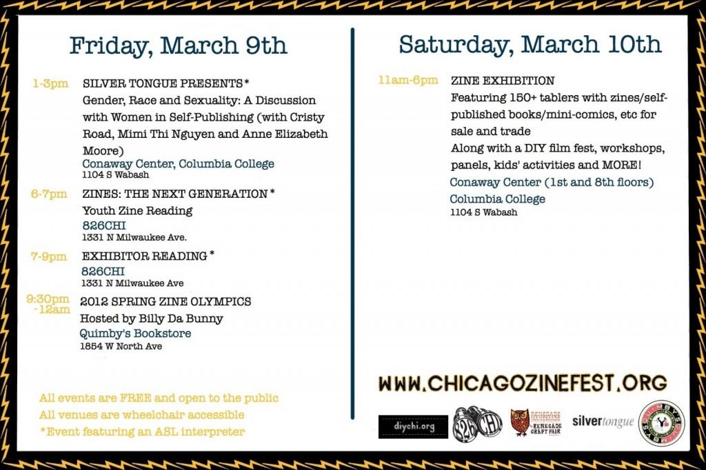 """postcardbackinfo12"" Courtesy of Chicago Zine Fest"